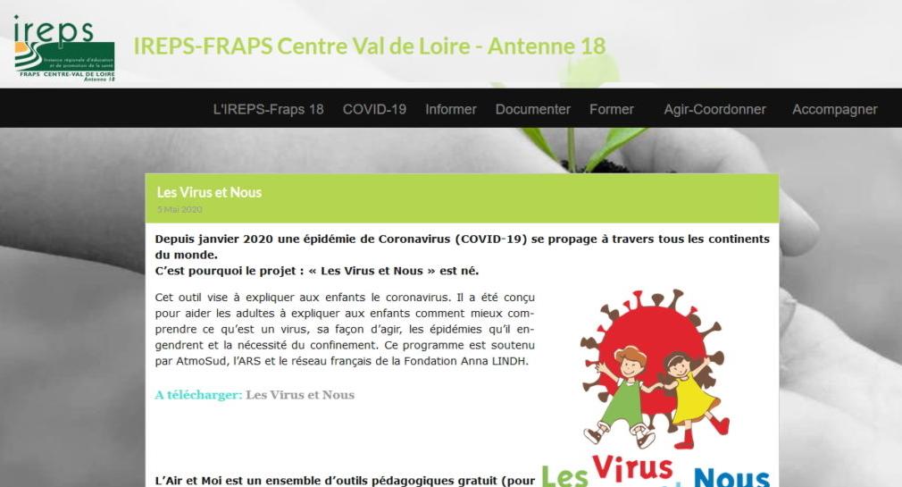 Les Virus et Nous : IREPS-FRAPS
