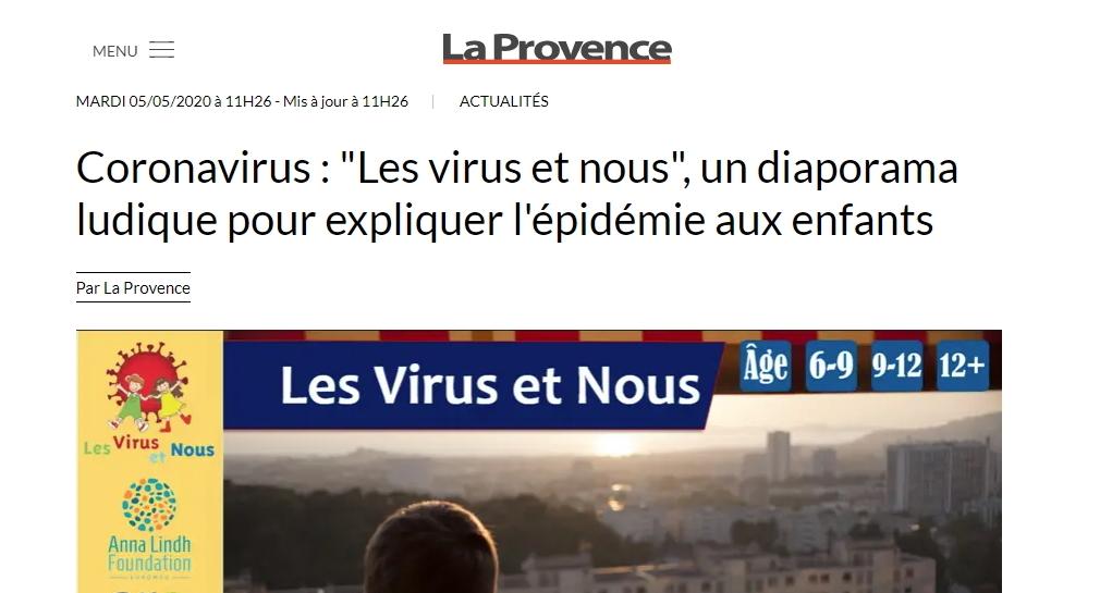 Les Virus et Nous : La Provence